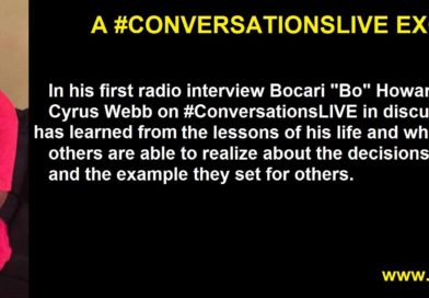 Bo Howard shares his story from the streets on #ConversationsLIVE