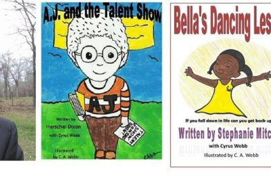 Children's Books Co-Written by Cyrus Webb Get New Life as Audio Books
